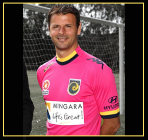 Sterjovski - Mariners. A-League.